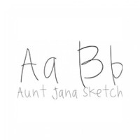Aunt Jana Sketch