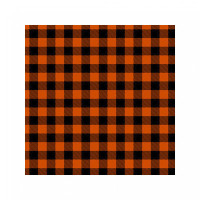 orange gingham pattern