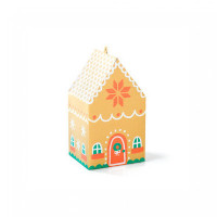 print & cut gingerbread house box