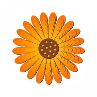 nested sunflower 3d
