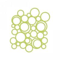 background lace - circle