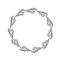 fall branch frame