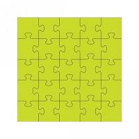 5x5 jigsaw puzzle
