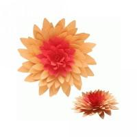 3d flower - leafy petals