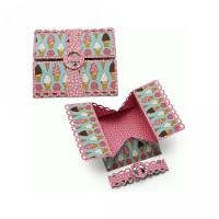3-d samantha walker open scalloped box card