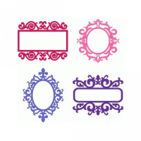 frames flourishes set