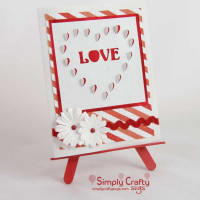 Heart Cutout Love Card