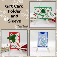 Gift Card Folder and Sleeve