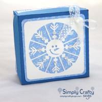 Snowman Snowflake Gift Box